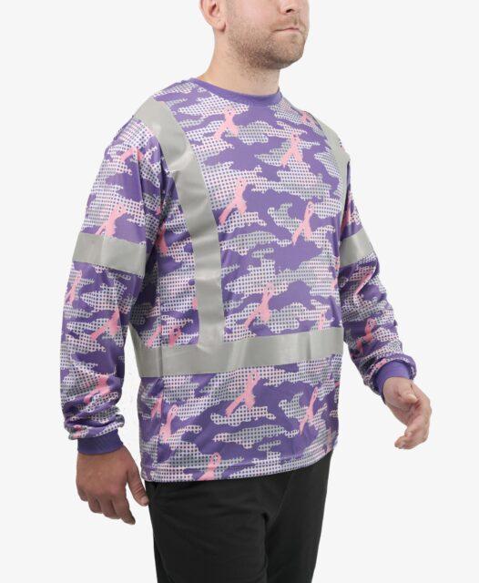 Explore Hi-Visibility Breast Cancer Concept Shirt details.
