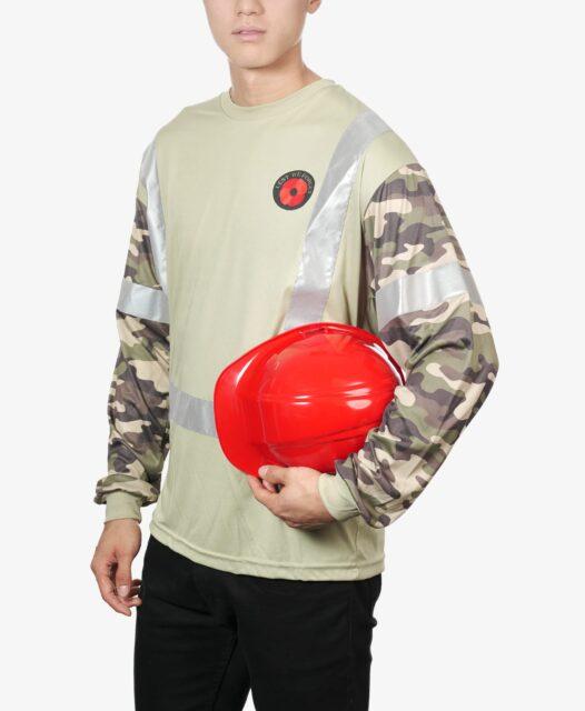 Explore Hi-Visibility Remembrance Day Concept Shirt details.