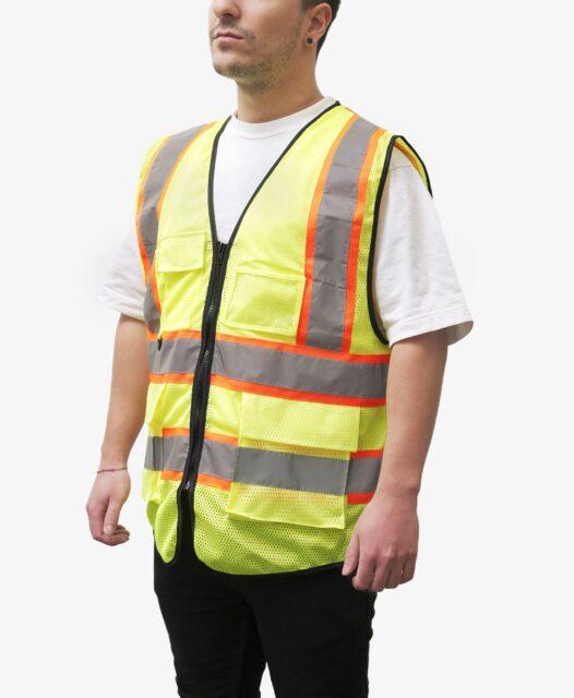 Explore Unisex Safety Vest details.